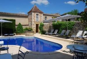 pigeonnier - Hotel Edward 1er - Monpazier - Dordogne - France