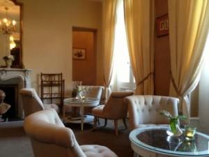 salon - Hotel Edward 1er - Monpazier - Dordogne - France